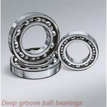 19 mm x 40 mm x 9 mm  NSK E 19 deep groove ball bearings