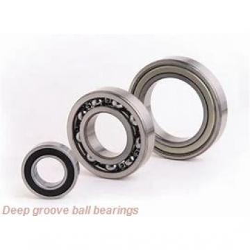 20 mm x 47 mm x 14 mm  KOYO 6204Z deep groove ball bearings