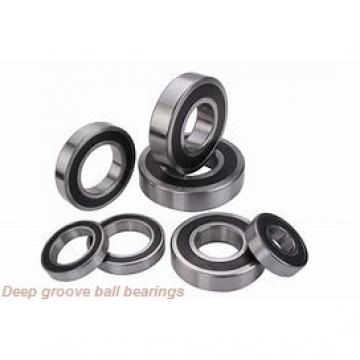 7 mm x 19 mm x 6 mm  ISO 607ZZ deep groove ball bearings