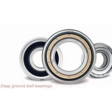 60 mm x 95 mm x 18 mm  NSK 6012N deep groove ball bearings