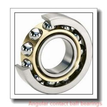 100 mm x 215 mm x 47 mm  NSK 7320 A angular contact ball bearings