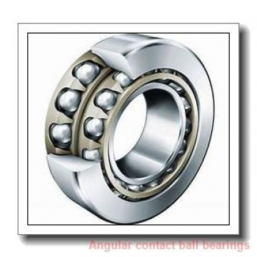 80 mm x 125 mm x 22 mm  NACHI 7016AC angular contact ball bearings