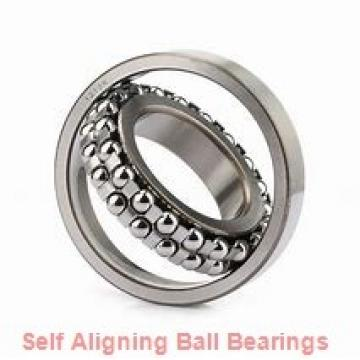 90 mm x 190 mm x 43 mm  NKE 1318-K self aligning ball bearings