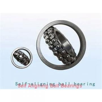 30 mm x 62 mm x 16 mm  ISO 1206K+H206 self aligning ball bearings