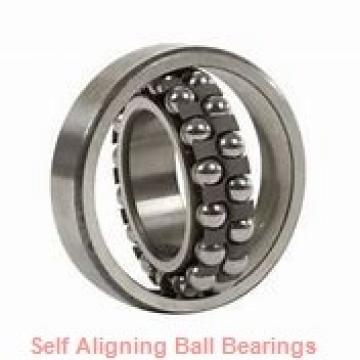 25 mm x 62 mm x 24 mm  SKF 2305E-2RS1KTN9 self aligning ball bearings