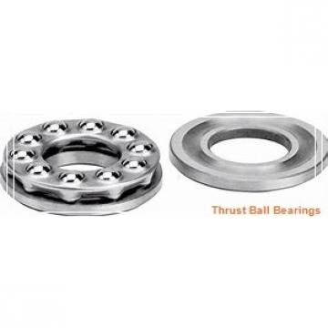 100 mm x 215 mm x 47 mm  NSK 100TAC03CMC thrust ball bearings