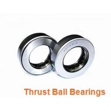 ISO 54222U+U222 thrust ball bearings
