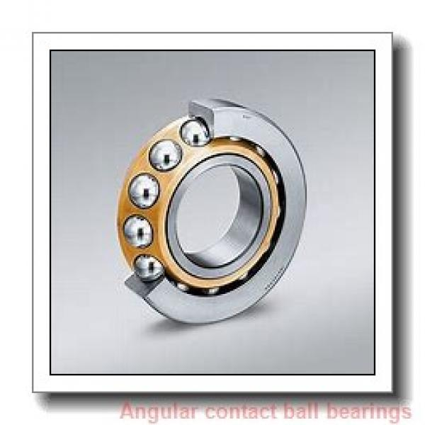 35 mm x 55 mm x 20 mm  NSK 35BD219 angular contact ball bearings #1 image