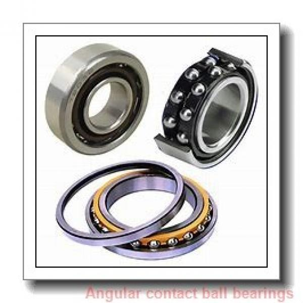 75 mm x 130 mm x 25 mm  NTN 7215CG/GNP4 angular contact ball bearings #1 image