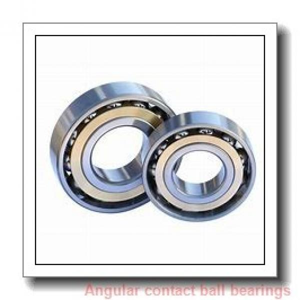 40 mm x 68 mm x 15 mm  SNFA HX40 /S 7CE1 angular contact ball bearings #1 image