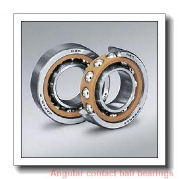 35 mm x 66 mm x 37 mm  ILJIN IJ131002 angular contact ball bearings #1 image