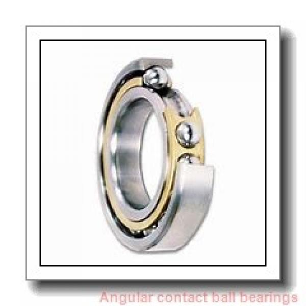 70 mm x 110 mm x 24 mm  NSK 70BNR20XV1V angular contact ball bearings #1 image