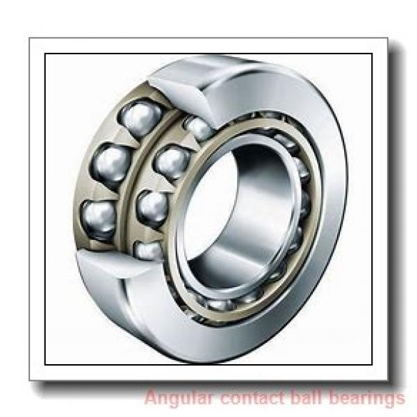 18,75 mm x 40 mm x 10 mm  NSK 18BSC01 angular contact ball bearings #1 image